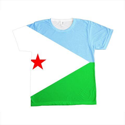 Djibouti Flag T-SHIRT - Unisex