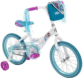 Girls' 16 Inch Huffy Disney Frozen Bike