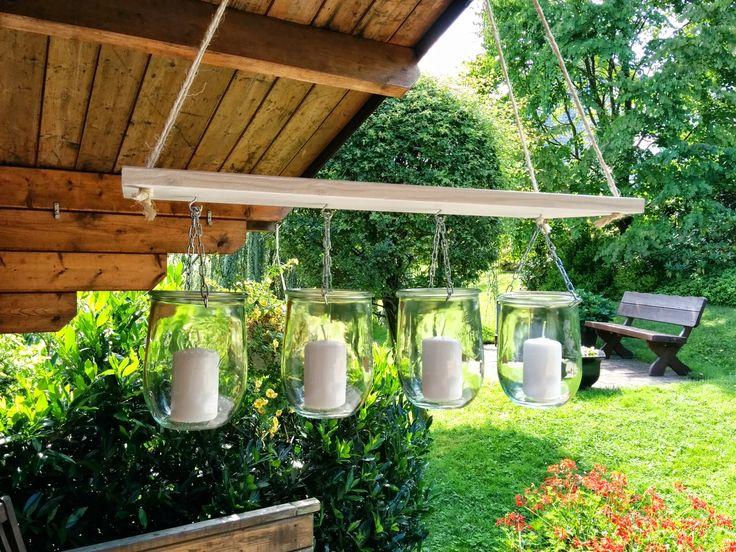 70 besten upcycling bilder auf pinterest - Gartenlampe selber bauen ...
