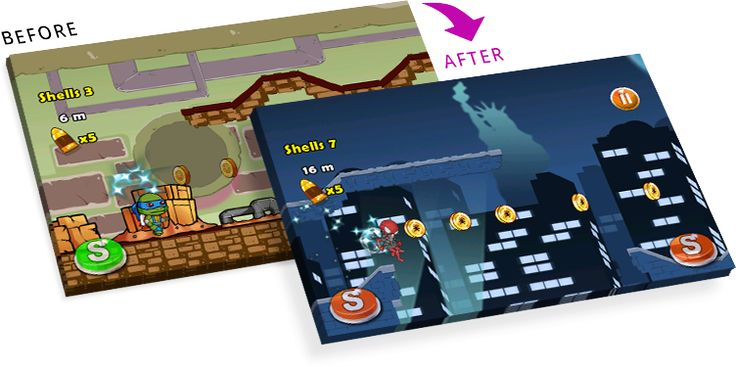 Reskinning gives a new look to the entire game & attract more customers to buy!!!