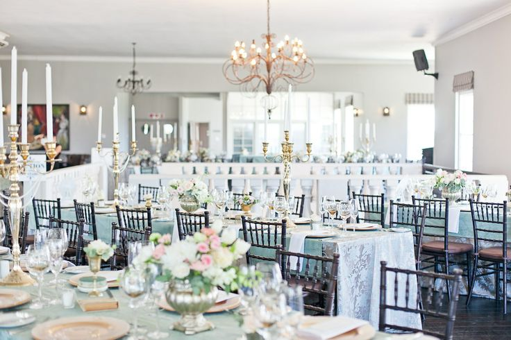 Reception venue  (Decor by Studio Bloem, Photography by Veronique Mills)