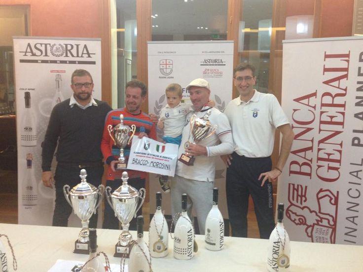 Marco Bracco e Roberto Morosini sono i Campioni d'Italia di Footgolf a Coppie over40 della @Federfootgolf