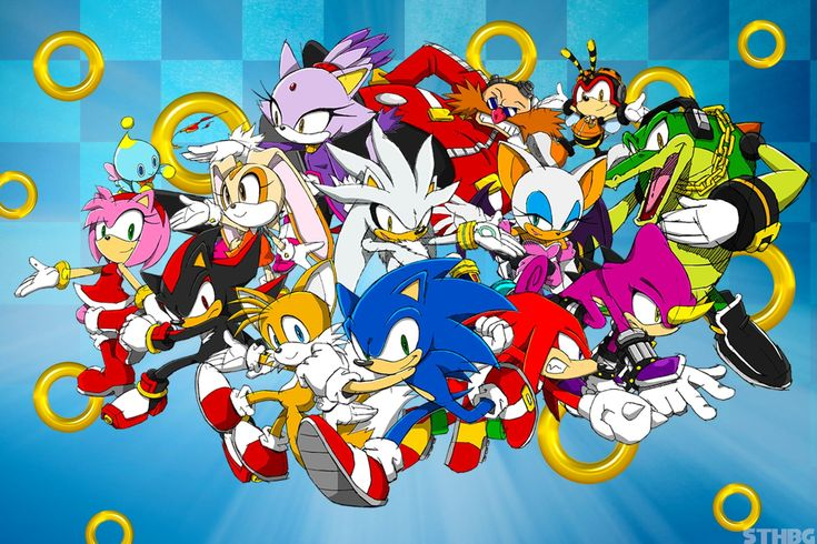 Sonic Sonic the Hedgehog Tails (character) Shadow the