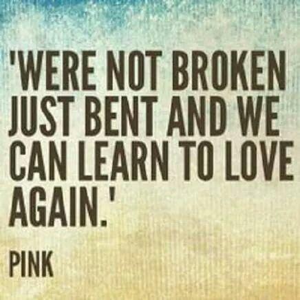Just bent...