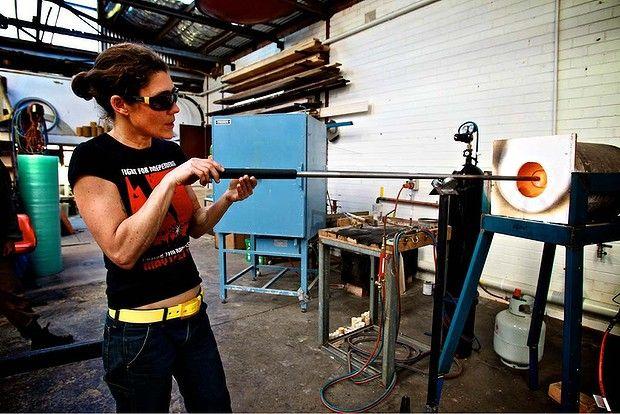 Ruth Allen, glass artist