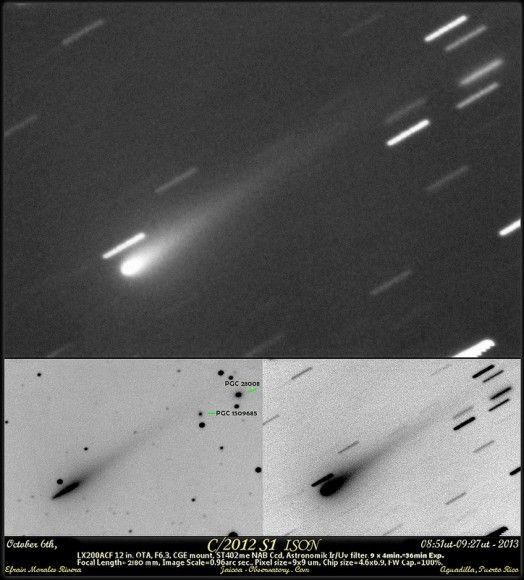 New Data: Will Comet ISON Survive its Close Perihelion Passage?