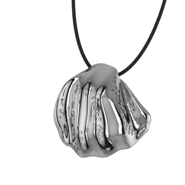Shell silver pendant     #jewellery #fashion #accessories #greekdesigners #jewelry #necklace #pendant #style www.gpjewellery.com