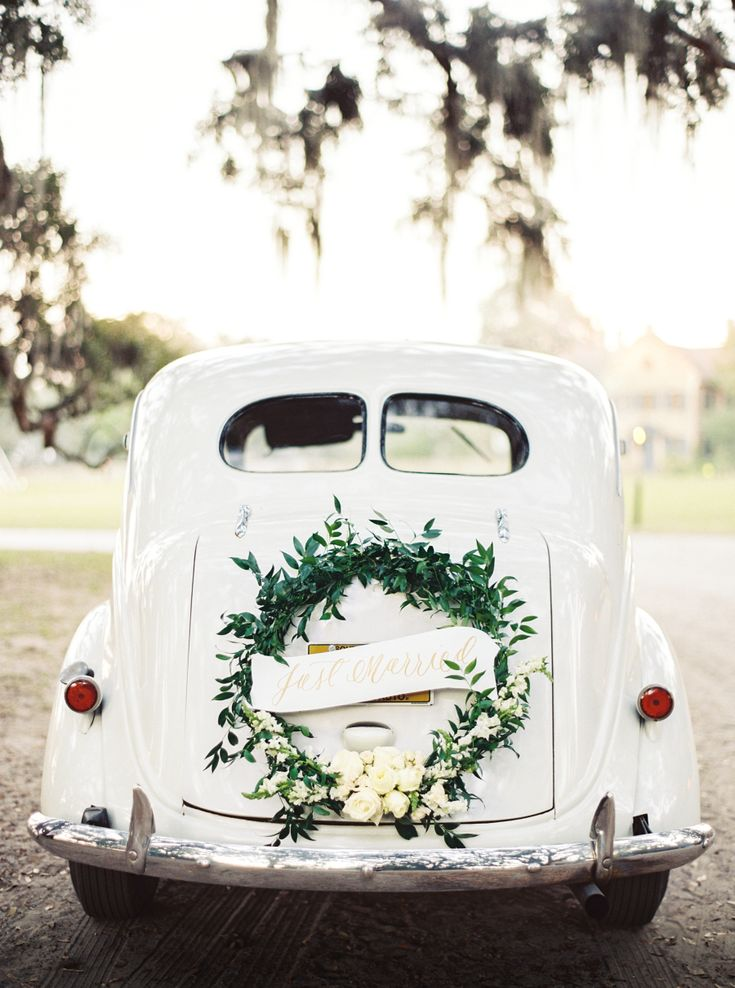Best 25 Just Married Car Ideas On Pinterest Wedding