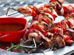 Recipes - Skewered lime-spiced chicken - Heart and Stroke Foundation of Canada