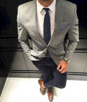 Modern men's business fashion style (31)