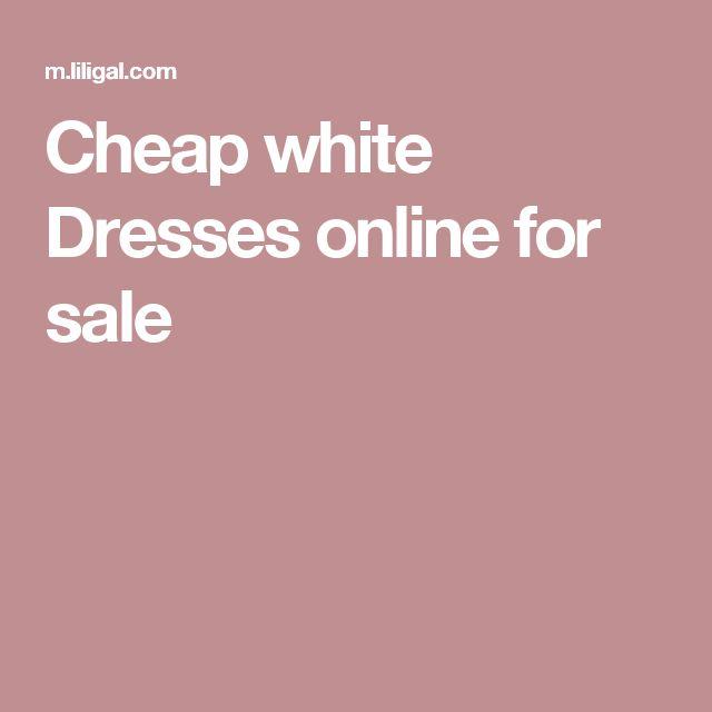 Cheap white Dresses online for sale