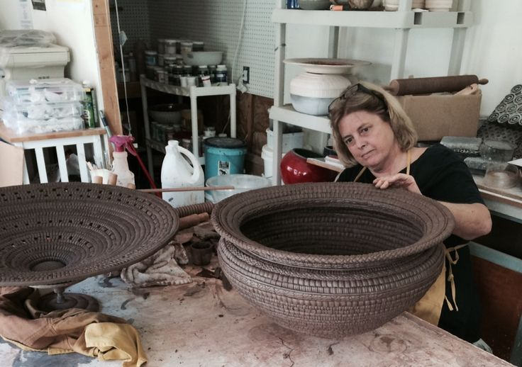 Candone Wharton's introduction to clay involved only the use of her hands and the simplest of tools. Today, she combines years of experience with diverse influences to create ceramic art in a style all her own.