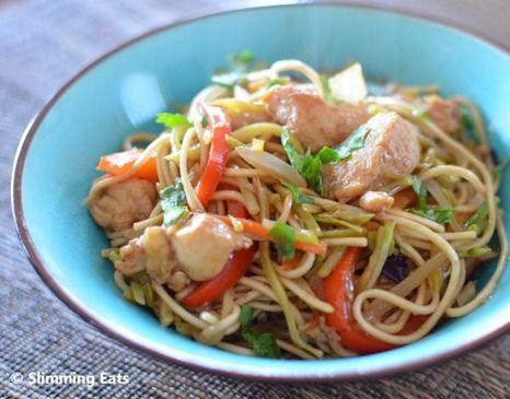 chicken noodles, slimming world