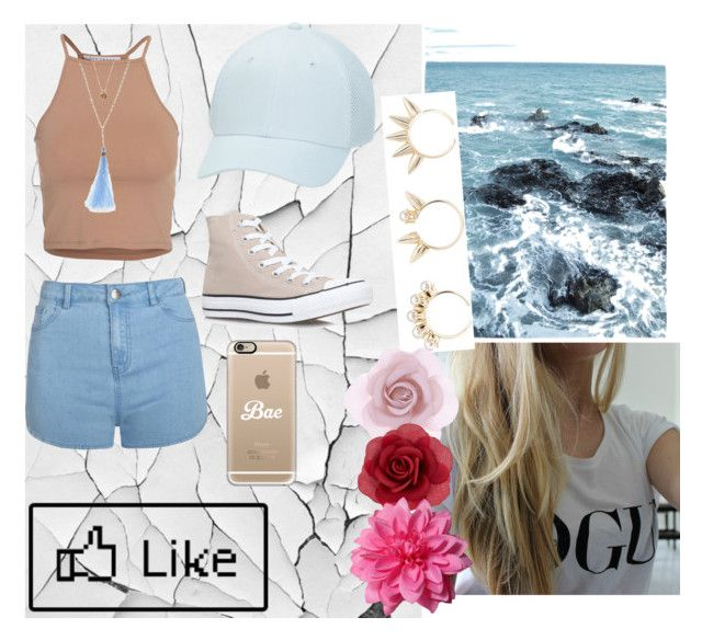 """Be yorself"" by raque-santacruzv on Polyvore featuring moda, xO Design, Joomi Lim, NLY Trend, San Diego Hat Co., Ally Fashion, Converse, Lonna & Lilly, Casetify y Accessorize"