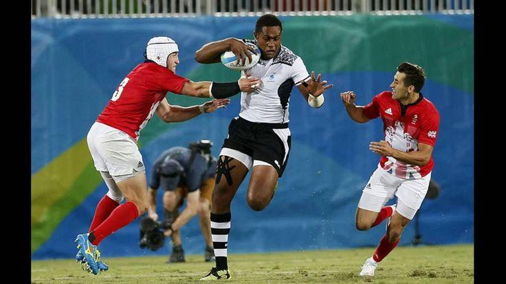 Сборная Фиджи завоевала первую медаль в истории страны на Олимпийских иг...
