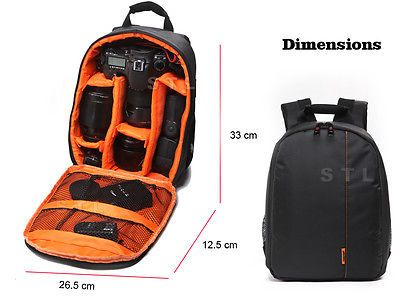 Dslr compact #backpack #camera case bag for #nikon d3s d3x d4 d3 d4s,  View more on the LINK: 	http://www.zeppy.io/product/gb/2/231827940788/