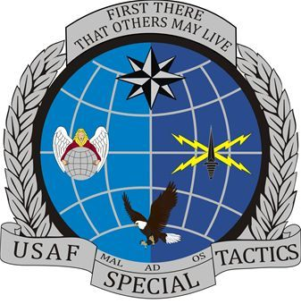 USAF Special Tactics Officer Emblem. Special Tactics Officers leadU.S. Air Force Pararescuemen,U.S. Air Force Combat ControllersandU.S. Air Force Special Operations Weather Technicians. They do not have their own training course, instead they go through the Combat Control training whileCombat Rescue Officersattend Pararescue training. Many attain qualifications asJoint terminal attack controllers. Their 35-week initial training and unique mission skills earn them the right to wear the…