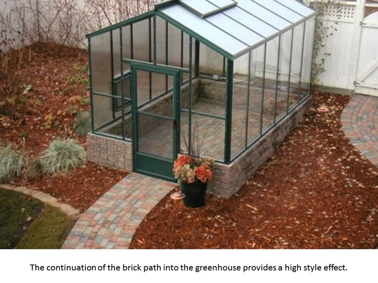 Flooring Ideas for your Greenhouse Greenhouse, Home