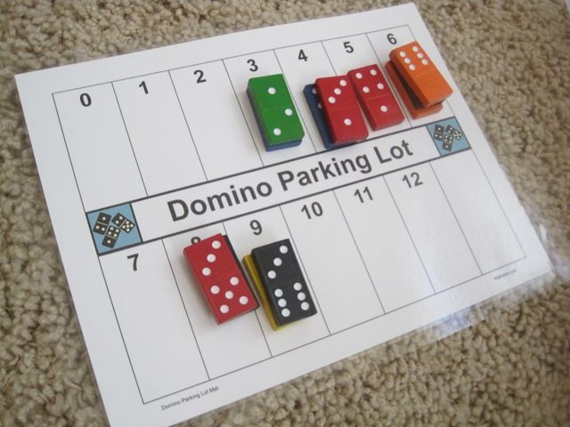 domino parking lot: Ways to name a number