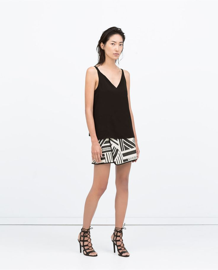 Image 1 of BASIC CAMISOLE TOP from Zara