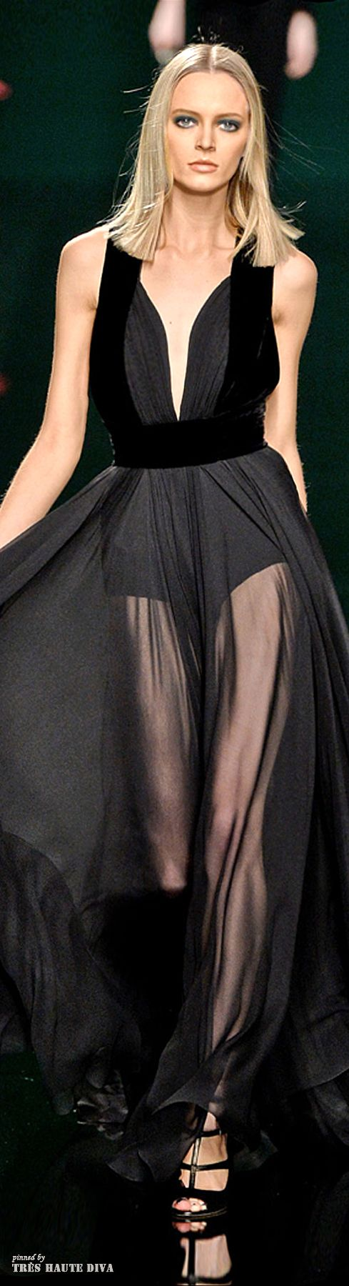 Paris Fashion Week Elie Saab Fall/Winter 2014 RTW