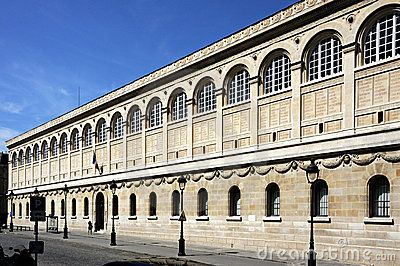 Paris (France) The St Genevieve Library. Labrouste