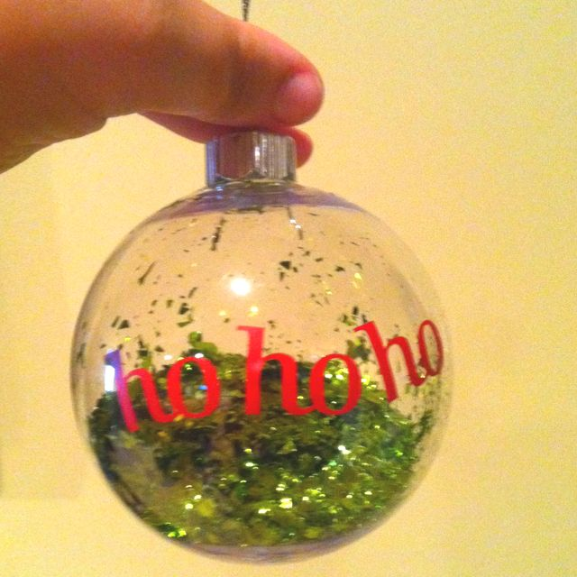 Homemade ornaments great for gifts