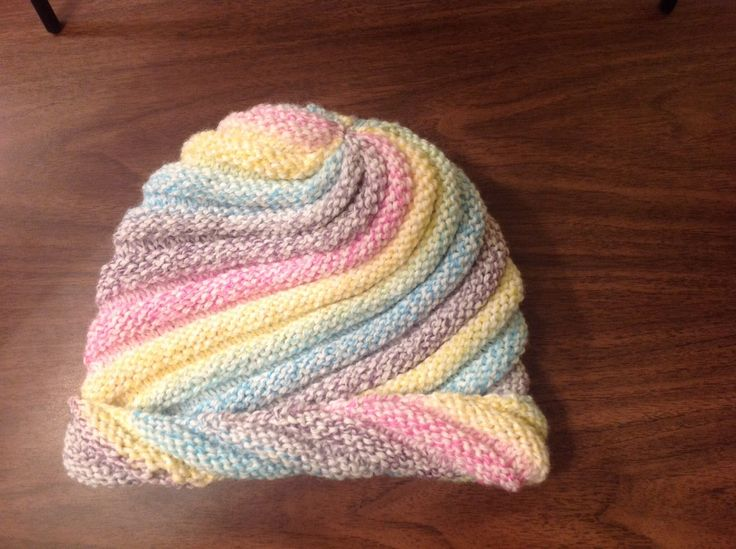 Simple free pattern designed by Plymouth Yarns. Plymouth Encore Colorspun works the best for color changes. Knit back and forth on straight needles working w...