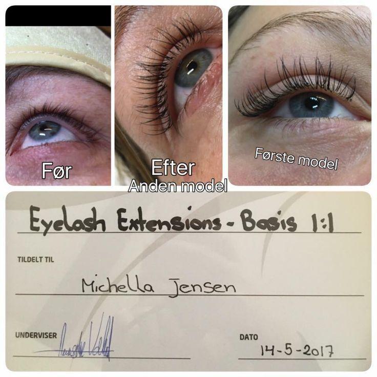 Michella har været på vores eyelash kursus og lavet de flotteste øjenvipper, du kan også komme på eyelash kursus og lære at lave flotte vipper som er meget populært.