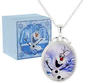 Disneys Frozen Necklace with Music Box