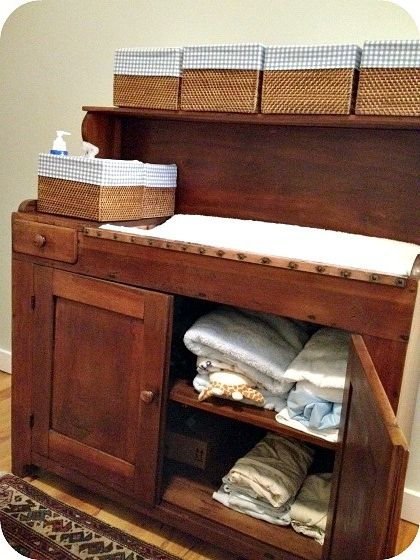 Dry Sink Changing Table. I Always Thought Vintage Dry Sinks Would Make  Perfect Changing Tables