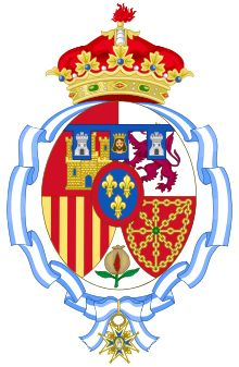 Coat of arms of Infanta Margarita of Spain, Duchess of Soria and Hernani