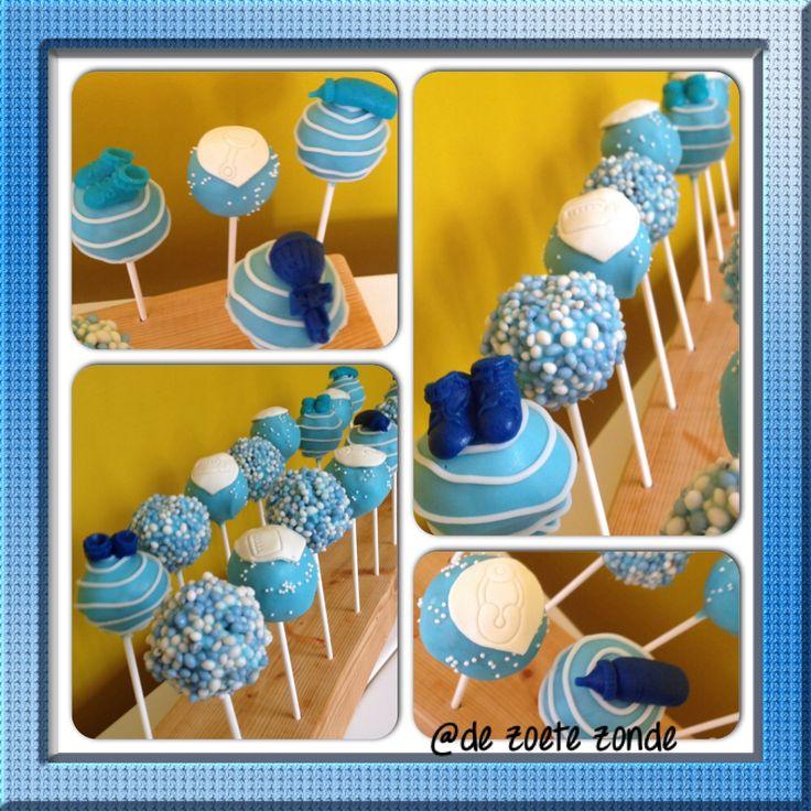 Babyshower cakepops