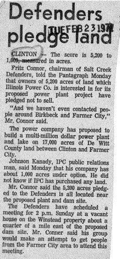 Clinton Power Station - Clinton, Illinois DeWitt County
