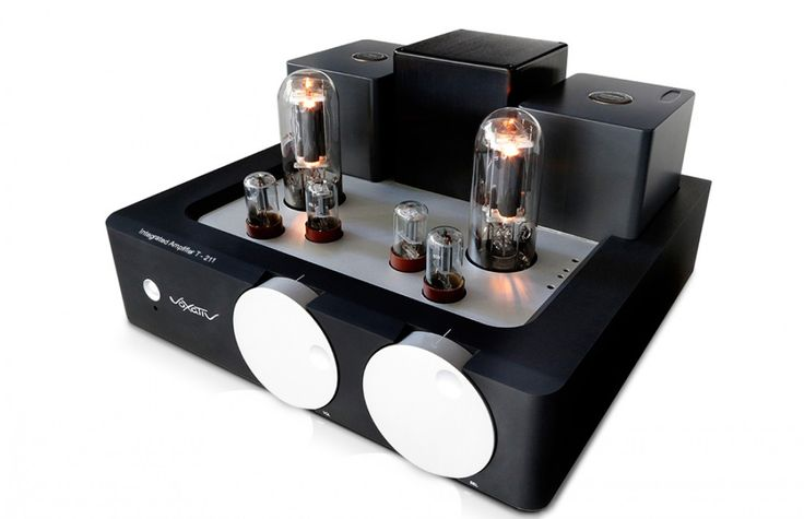 Voxativ T-211 single-ended integrated amplifier The best way to drive your high efficiency speakers is this 40 kg beauty. It boasts a housing that is milled out of a 63 kg aluminum block. Output trans