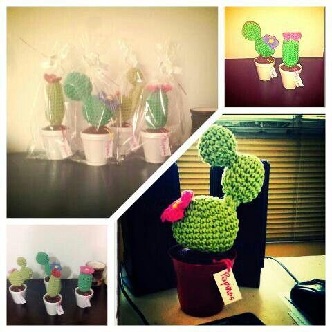 Cactus para decorar!! Popines