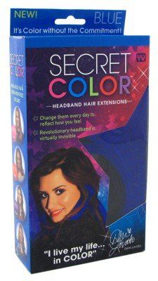 Secret Color Headband Hair Extensions Blue  //Price: $ & FREE Shipping //     #hair #curles #style #haircare #shampoo #makeup #elixir
