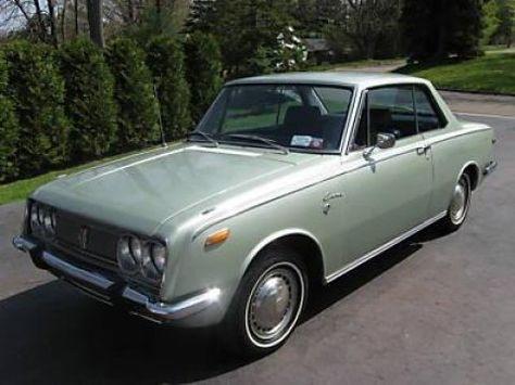1969 Toyota Corona. I've always wanted one of these.