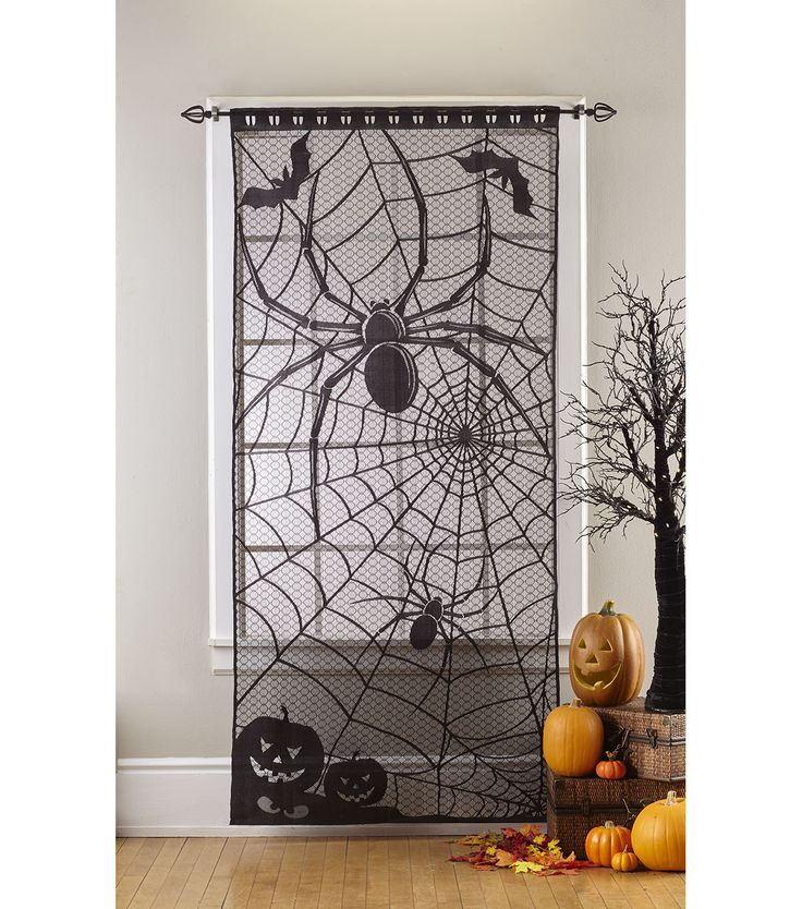 Spider Web Window Door Panel