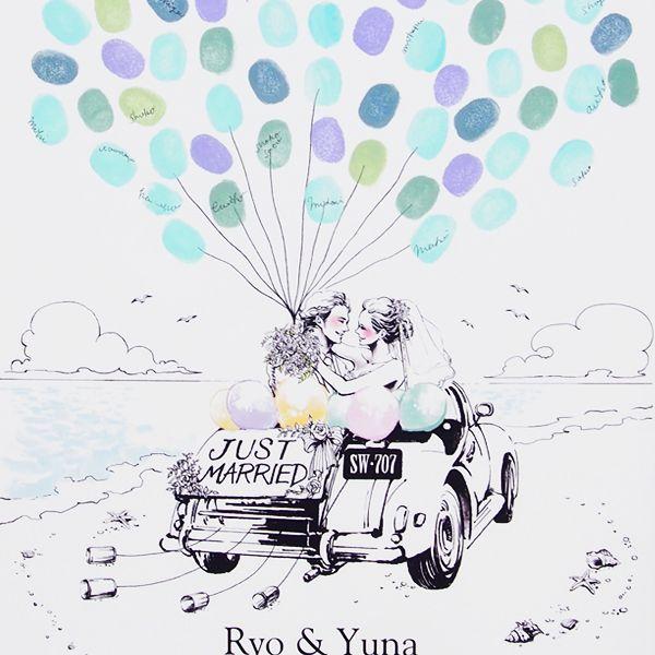 ウェディングバルーンリリース・シーサイドウェディング - ウェディングツリー販売・The Wedding Tree (ウェディングツリー)produced by Fleur