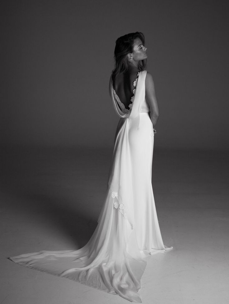 Louise by Rime Arodaky | Exclusively available in The Netherlands at Wild At Heart Bridal.