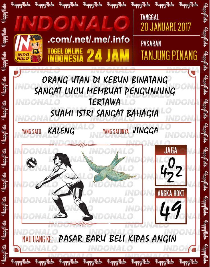 Nomer Hoki 4D Togel Wap Online Live Draw 4D Indonalo Tanjung Pinang 20 Januari 2017
