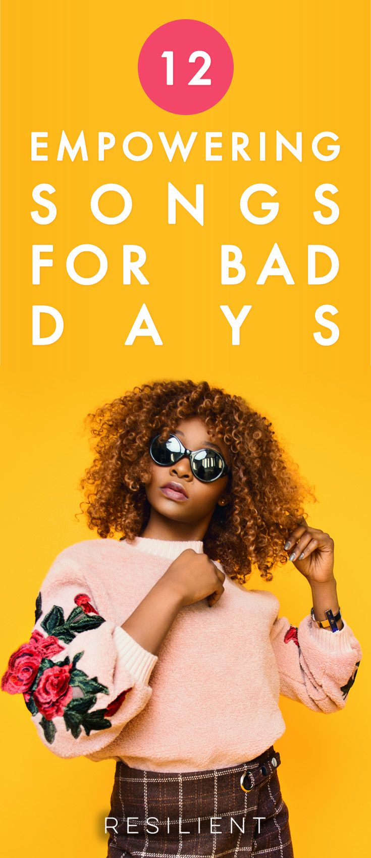 When bad days happen, it's nice to have some inspirational or motivational songs to lift your spirits and make you feel better.  Here are 12 motivational songs for bad days.
