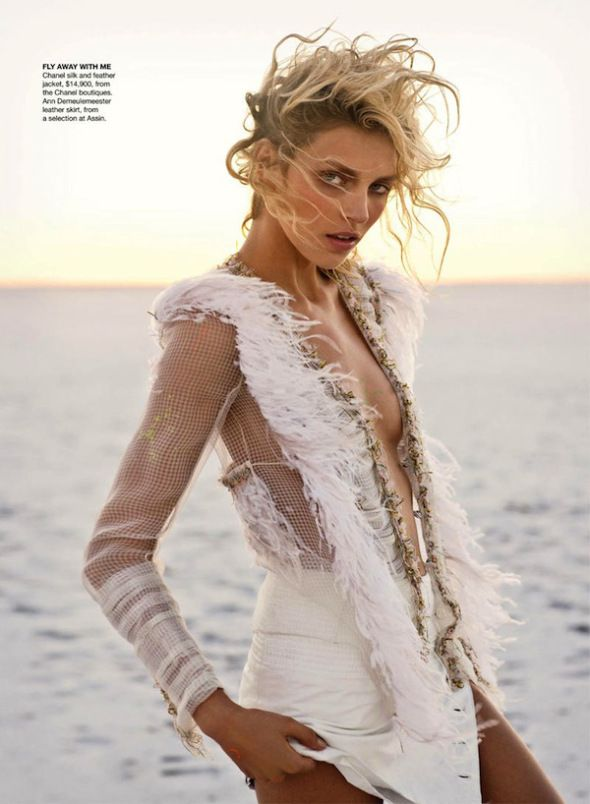 Anja Rubik by Max Doyle for Vogue Australia 11