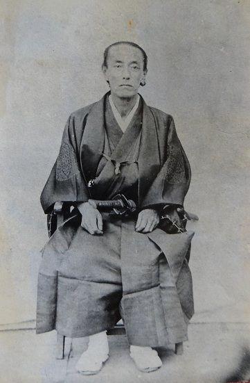 幕臣 大久保一翁。4人の将軍に仕え、勝海舟を見出すなど幕府内で影響力を持っていた。
