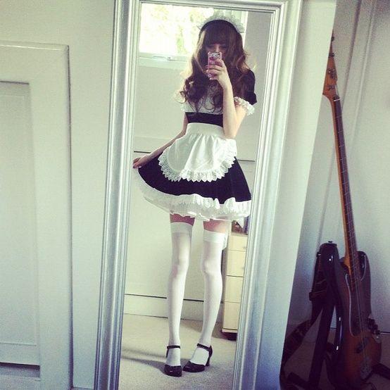 Japanese fashion I Maid dress