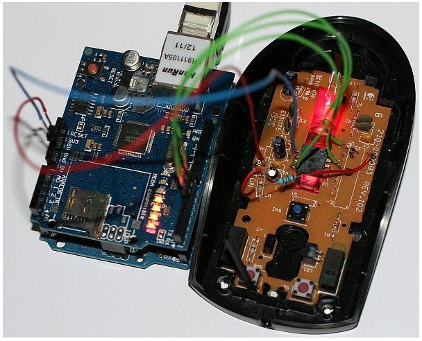 Arduino wireless mouse - Jizzunet