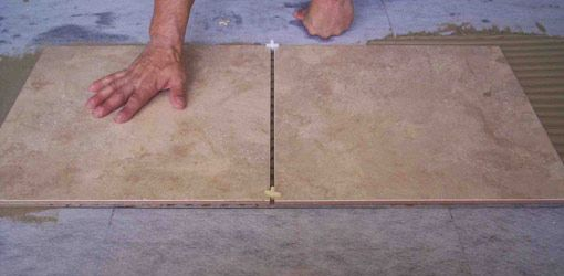 great instructions about how to lay tile - including information about tools and baseboards