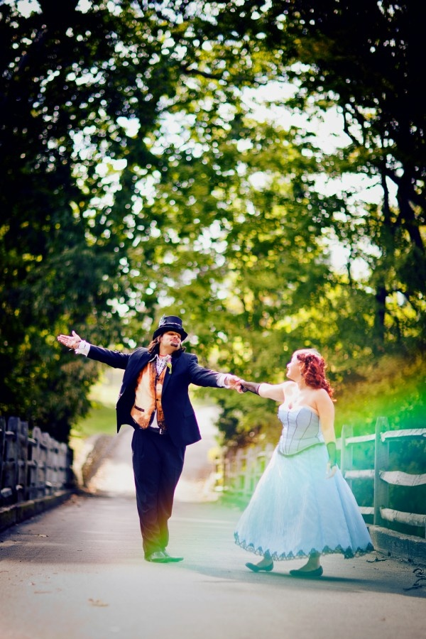 Curiouser and curiouser: it's an Alice in Wonderland wedding | Offbeat Bride