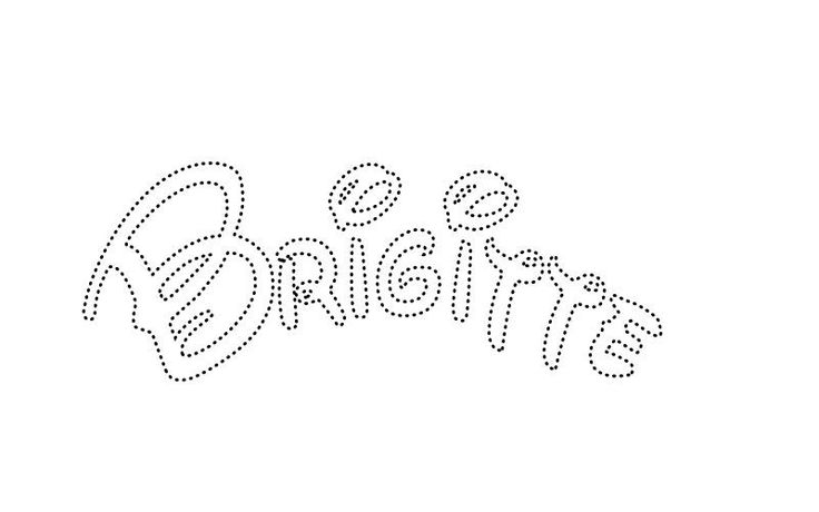 Brigitte | Namen Disney stijl | glittermotifs